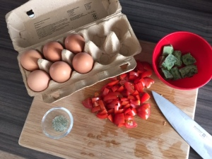 ingredients frittata